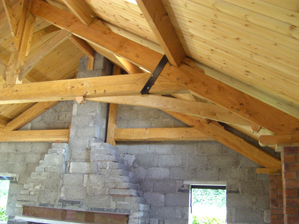 Vault roof truss tags cathedral ceiling insulated roof for Cathedral ceiling trusses